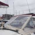 Beneteau First  45F5  - Big view dodger