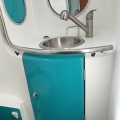 Beneteau First 45F5 BAthroom Master Cabin